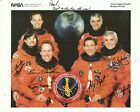 Crew of STS 59 SPACE SHUTTLE Photo AutoPen SIGNED by each + NASA 76 Patch