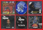 SNOOP DOGGY DOGG Doggystyle & Tha Doggfather [PA] Death Row 2 CD Lot Suge Knight