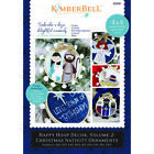 Christmas Nativity Ornaments by Kimberbell Vol 2 KIT w 6 2 pack Bamboo Hoops