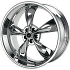 16x7 Chrome American Racing Torq Thrust M Wheels 5x115 +35 PONTIAC PRESTIGE