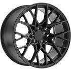 20x10 Black TSW Sebring Wheels 5x425 +40 Fits Jaguar XJ XKR S