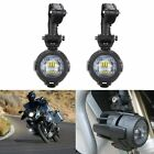 2pcs Motorcycle LED Auxiliary Fog Light Safety Driving Spot Lamp For BMW R1200GS