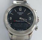 TISSOT T-Touch Classic Analog-Digital Stainless Steel Men's Watch;G618