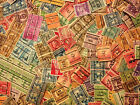 LOT of 1000+ US Precancel Stamps from Old Collection Early US Stamp Lot