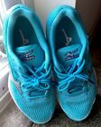 MIZUNO Wave Rider 20 Womens 65 turquoise Blue Running Athletic Sneakers Shoes