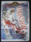 Thrashin DVD signed by Skateboard Legends Tony Hawk Mike McGill and Kevin Staab