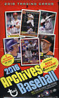 2016 TOPPS ARCHIVES BASEBALL HOBBY BOX FACTORY SEALED NEW