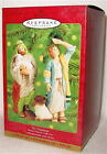 2000 Hallmark THE SHEPHERDS BLESSED NATIVITY COLLECTION ornament SET