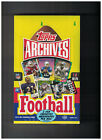 2 LOT BOX 2013 Topps Archives Football Hobby Box