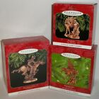 LOT OF (3) Hallmark - ENTIRE SERIES - THE OLD WEST ornaments