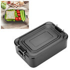 Portable Lunch Box Bento Food Storage Container Outdoor BBQ Picnic Utensils