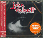 JOHN VALENTI-ANYTHING YOU WANT-JAPAN CD Ltd/Ed C94