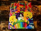 Vintage Lisa Frank Sticker Book with stickers in it 1980s  1990s