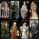 8 Different Old World Santa Claus For You 2 Pick From Unpainted Ceramic Bisque