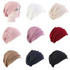 Muslim Women Cancer Elastic Hat Hair Loss Cap Chemo Turban Cover Headwear Beanie