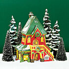 Dept 56 North Pole Santas Rooming House Mint In Box 56386