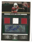 Beanie Wells 2011 Absolute Memorabilia Tools of Trade Jersey Autograph 9/10Auto