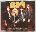 MR BIG UK 1992 CD Single TO BE WITH YOU with LIVE TRAX
