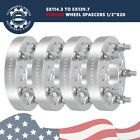 4 125 5 Lug Wheel Spacers Adapters 5x45 to 5x55 for Jeep Liberty Lincoln