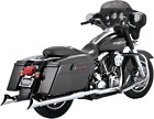 Vance  Hines Fishtail Fishtails Slip Ons Mufflers Exhaust Pipes Harley Touring