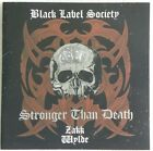BLACK LABEL SOCIETY STRONGER THAN DEATH CD MADE IN BRAZIL FIRST PRESSING 2000