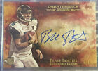 BLAKE BORTLES 2014 TOPPS INCEPTION RED AUTO ROOKIE # 5 ON CARD AUTOGRAPH JAGUARS