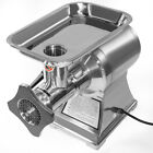 1100W Electric Meat Grinder Stainless Steel Heavy Duty 22 Sausage Maker