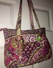 Vera Bradley Betsy Purse Tote in Very Berry Paisley Retire NWT Bold Rich Color