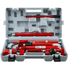 12Ton Porta Power Hydraulic Jack Body Frame Repair Kit 2M Lengthen Hose Lift Ram