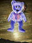 Ty Beanie Baby 2000 Retired Periwinkle. Slightly Used. Great Shape