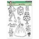 PENNY BLACK RUBBER STAMPS CLEAR SPECIAL DAY NEW clear STAMP SET