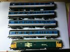 Lima OO gauge class 50 and 4 Network Southeast Mark 2 coaches