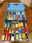 Matchbox Lesney England Lot of 48 Vintage Cars 70s 80s Diecast With Carry Case