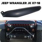 For Jeep Wrangler JK Front Grille Nighthawk Light Brow Black Decor OEM Replace