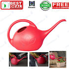 Watering Can 1 2 Gallon Indoor Impact Resistant Plastic Long Stem Spout Red NEW