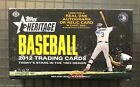 2012 Topps Heritage Baseball Unopened Sealed Hobby Box Mike Trout RC Year