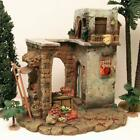 FONTANINI ITALY 5 EARLY MARKETPLACE 1996 NATIVITY VILLAGE BUILDING 50255 MIB