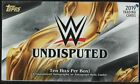 2019 TOPPS WWE UNDISPUTED WRESTLING HOBBY BOX FACTORY SEALED NEW