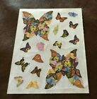 Creative Memories BUTTERFLY Stickers Beautiful Colors