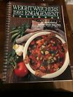 Vtg Weight Watchers Spiral Bound Cookbook Food Diary 1992 Engagement Calendar