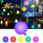 Color Changing Floating LED Ball Light Waterproof Swimming Pool Garden Decor