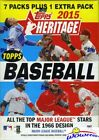 2015 Topps Heritage Baseball Factory Sealed Retail Box-Brand New! Loaded !