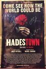HADESTOWN CAST SIGNED POSTER THEATRE BROADWAY BY 9 NYC EVA NOBLEZADA BEAUTIFUL