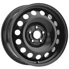4 Vision SW60 Steel Mod 14x55 4x100 +38mm Black Wheels Rims 14 Inch