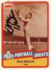 Don Hutson Autographed Signed Football Card with JSA COA