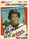 Rod Carew Cards, Rookie Cards and Autographed Memorabilia Guide 38