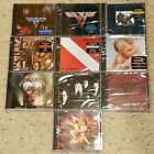 VAN HALEN - Complete Set of 10 CDs - David Lee Roth and Sammy Hagar years SEALED