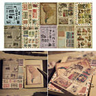 10 Sheets pack Vintage Paper Stickers DIY Scrapbooking Album Diary Craft Deco sa