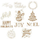 Christmas Scrapbooking Metal Cutting Dies Stencil Paper Card Crafts Embossing