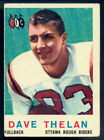 1959 Topps Football Cards 8
